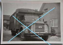 Photo Camion Truck Veesvervoer AUTO Automobile Oldtimer 1963 Voiture Car  Wagen - Cars