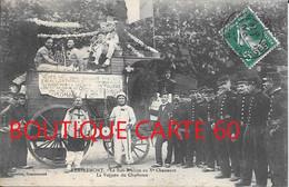 88 - REMIREMONT - LA SIDI BRAHIM AU Ve CHASSEUR - LA VOITURE DU CHARLATAN - Remiremont