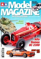 TAMIYA MODEL MAGAZINE INTERNATIONAL 168 M4A2 SHERMAN / ALFA ROMEO 8C 2300 - Auto/Motorrad