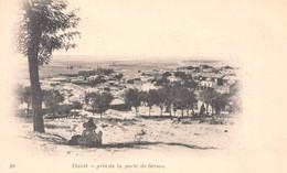 Algérie - TIARET - Vue Prise De La Porte De Sersou - Précurseur, Carte-Nuage - Tiaret