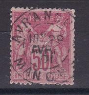 D107 / LOT SAGE N° 104 OBL COTE 45€ - 1898-1900 Sage (Tipo III)