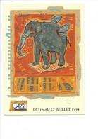 26585 - Jazz Et Musiques Du Monde Et D'ailleurs Manosque 1994 Eléphant (format 10X15) - Manosque