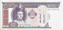 MONGOLIE - 100 Tugrik 2008 UNC - Mongolia