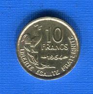 10  Fr  1954 - K. 10 Franchi