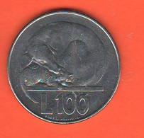 San Marino 100 Lire 1975 Steel Coin - Saint-Marin