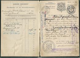 Borgerhout Trouwboekje - Unclassified