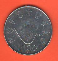 San Marino 100 Lire 1979 Steel Coin - Saint-Marin