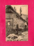 05 Hautes Alpes, LES ALPES, Le Cardage De La Laine, Animée, (A. Gros), Pliure Angle. - Non Classificati