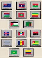 ONU Nations Unies  New-York Année 1986 Série Drapeaux 467 à 482  Neuf XX  Cote 30,40 - Nuovi