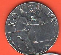 San Marino 100 Lire 1985  Steel Coin - Saint-Marin