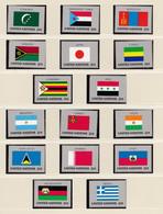 ONU Nations Unies  New-York Année 1987 Série Drapeaux 492 à 507  Neuf XX  Cote 30,40 - Nuovi