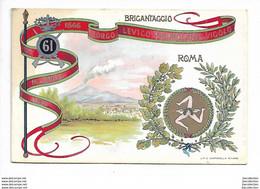61° Reggimento Fanteria - Piccolo Formato - Non Viaggiata - Régiments