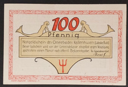 Sza.20 - Germany 1921 Notgeld Banknote 100 Pfennig Bad Kellenhusen Grabowski/Mehl 687.1-4/4 UNC - [11] Local Banknote Issues