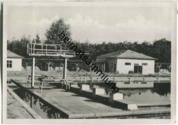 Forst Zinna - Deutsche Verwaltungs-Akademie Walter Ulbricht - Schwimmbad - AK-Grossformat - Jüterbog