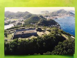 LES SAINTES, Terre De Haut , GUADELOUPE,  Le Fort Napoleon , Musée  , Vue Aérienne  De La Baie  , TTB - Otros