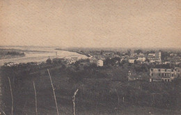 MONTELLO-TREVISO-NERVESA E IL PIAVE DALLE ALTURE DEL MONTELLO - CARTOLINA VIAGGIATA IL 23-12-1921 - Vicenza