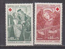 M3413 - FRANCE Yv N°1661/62 ** Croix Rouge - Unused Stamps