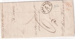AUTRICHE 1856 LETTRE DE PRAG - ...-1850 Prephilately