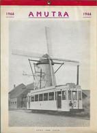 Amutra 1966 Lillo, Antwerpen, Brussel Chatelet, Gent, Luik - Formato Grande : 1961-70