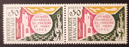 France/French Stamp 1962 N°1334 Sans Le Pole Sud Tenant à Normal **  TB - Ungebraucht