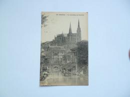 CHARTRES  -  28  -   La Cathédrale,  Du Pont Neuf   -   Eure Et Loir - Chartres