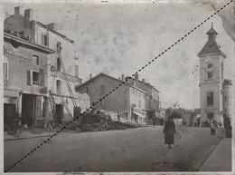 Photo Ancienne Guerre  WWII Ruines à Meximieux Ain - Guerra, Militari
