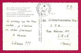 Écrit Sur Carte Daté De 1960 - Poste Aux Armées - A.F.N. - Alger - Multivues - Non Classés