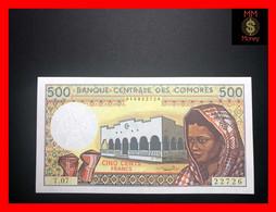 COMOROS  500 Francs 1986  P. 10  Sig. Ben Ali - Rioux      UNC - Comoros