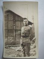 Argonne Soldat Américain US Army WW1 - Carte Photo - War 1914-18