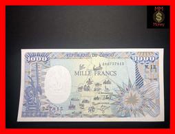CONGO REPUBLIC  1.000 1000 Francs  1.1.1992   P. 11   UNC - Republik Kongo (Kongo-Brazzaville)