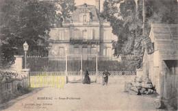 RIBÉRAC (24) CPA PRÉCURSEUR 1902 SOUS-PRÉFECTURE  - L. LADOIRE, IMP. BERGERAC (¬‿¬) ♦ - Riberac