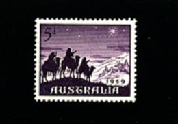 AUSTRALIA - 1959  CHRISTMAS   MINT NH - Ongebruikt