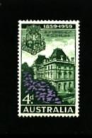 AUSTRALIA - 1959  SELF GOVERNMENT IN QUEENSLAND MINT NH - Ongebruikt
