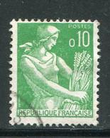 FRANCE-Y&T N°1231- Oblitéré - 1957-59 Moissonneuse
