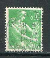 FRANCE-Y&T N°1231- Oblitéré (très Belle Oblitération!!!) - 1957-59 Moissonneuse