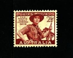AUSTRALIA - 1948  2 1/2 D  SCOUT  MINT NH  SG 227 - Ongebruikt
