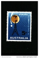 AUSTRALIA - 1965  ITU  CENTENARY  MINT NH - Ongebruikt
