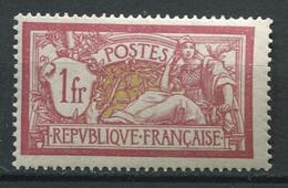 20701 FRANCE N°121** 1F Lie-de-vin Et Olive Type Merson  1900  TB - 1900-27 Merson