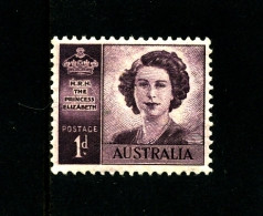 AUSTRALIA - 1947  PRINCESS  WMK  MINT NH  SG 222 - Ongebruikt