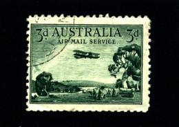 AUSTRALIA - 1929  3d  AIR MAIL  FINE USED  SG 115 - Gebruikt