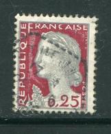FRANCE-Y&T N°1263- Oblitéré - 1960 Marianne De Decaris