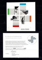 Australia 2007 Architecture Landmarks Imperforate Minisheet MNH With Authenticity Certificate No 0839 - Ongebruikt