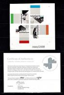 Australia 2007 Architecture Landmarks Imperforate Minisheet MNH With Authenticity Certificate No 0840 - Ongebruikt