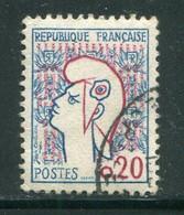 FRANCE-Y&T N°1282- Oblitéré - 1961 Marianne De Cocteau