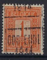 PELLENS Type Cijfer Nr. 108 Voorafgestempeld Nr. 2312 Positie C  OOSTENDE 1914 ; Staat Zie Scan ! Inzet Aan 10 € ! - Rollini 1910-19