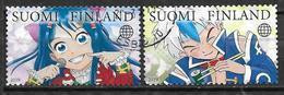 Finlande 2019 N° 2590/2591 Oblitérés Mangas - Gebruikt