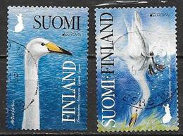 Finlande 2019 Timbres Oblitérés Europa Oiseaux - Gebruikt