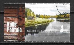 Finlande 2019 Timbre Oblitéré Kalle Päätalo - Gebruikt