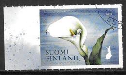 Finlande 2019 Timbre Oblitéré Fleur - Gebruikt