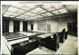 ► 1936 - PUTEAUX  - Salle Scéances PALAIS De JUSTICE  -  Coupure De Presse (Encadré Photo) - Historical Documents